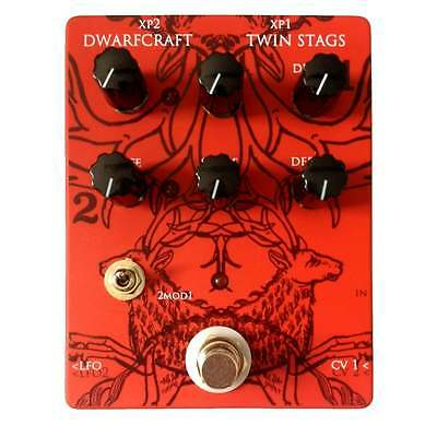 Dwarfcraft Devices Twin Stags Double Tremolo Pedal - Brand New