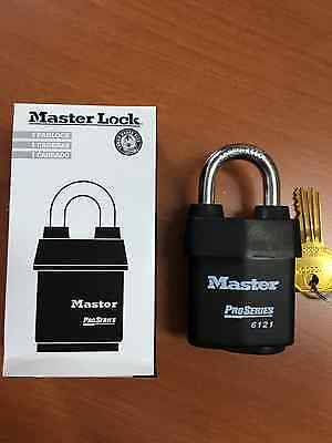 Master Lock Pro Series 6121 *new Lot Of 6