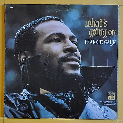 Rare Original First Press  Marvin Gaye What's Going On  Tamla T 310V1 USA 1971