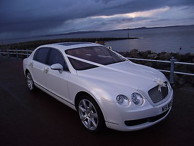 Bentley Continental Flying Spur, absolutely stunning car  PEARL WHITE !