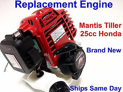 Mantis Tiller Replacement Engine #400911,  4-Cycle,  BRAND NEW,  Honda GX25