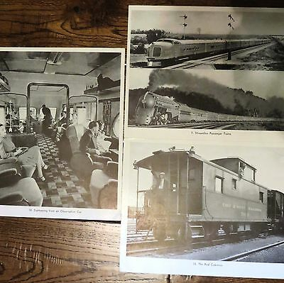 EAST AND WEST RAILROAD the TRAINING MANUAL LOT 3 PHOTOGRAPHS