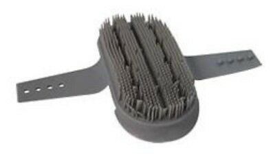 KBF99 Curry Comb Black/Grey - Horse/Pony Grooming