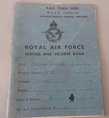 Raf Royal Air Force Service And Release Book