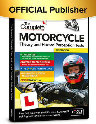 The Complete Motorcycle Theory and Hazard Perception Tests 2017