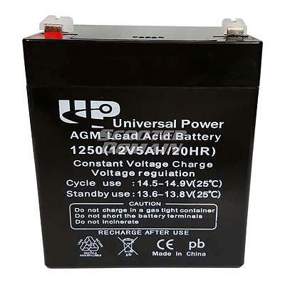 Battery - 12v, 5amp UB1250, Scooters, Pocket Bikes / Computers & Alarm Systems