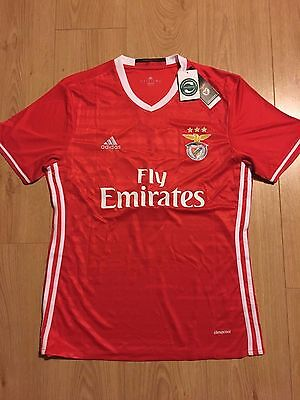 Maillot Football BENFICA LISBONNE 2016 taille L RAUL#9