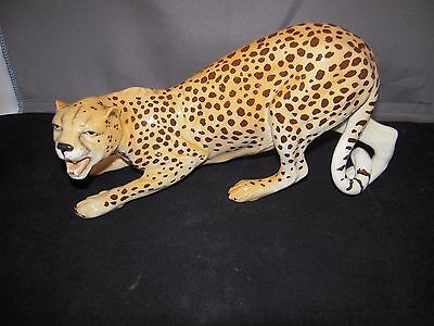 Beswick Leopard - Large Gloss Figurine approx. 9 inches Long. Lovely Condition.