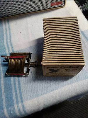 Premier Crofoot Low Loss Vario Condenser NOS New Old Stock Crowfoot with box