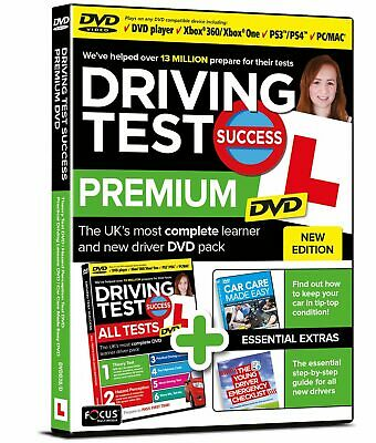 Driving Test Success Premium DVD New Edition