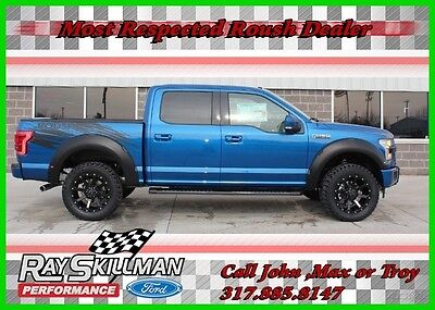 2017 Ford F-150 2017 Lariat ROUSH F-150 Truck 2017 Lariat New 5L V8 32V Automatic 4WD Pickup Truck Moonroof 17