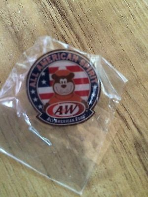A & W Root Beer Lapel Pin