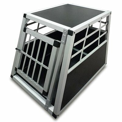 Leopet Dog Transport Box 51 cm High Puppy Carrier Crate Car Travel Cage