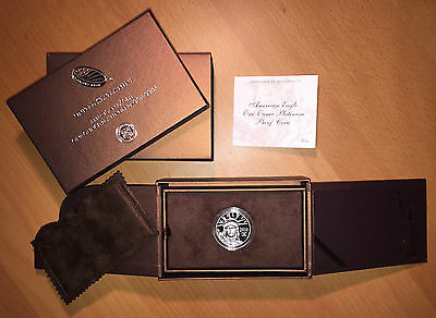 2016 American Eagle $100 Platinum Proof 1 oz Coin with Original Box & COA