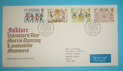 GB First Day Cover - 1981 - Folklore - Special handstamp - London