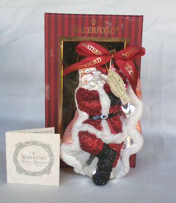 "Waterford Holiday Heirlooms Ornament ""Romance Santa"" 139237"