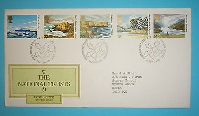 GB First Day Cover - 1981 - National Trust - Special handstamp - Keswick