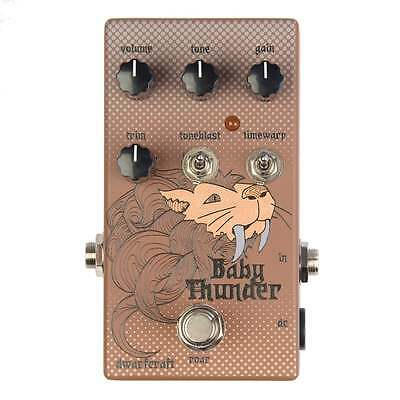Dwarfcraft Devices Baby Thunder Fuzz pedal - Brand New - Official Dealer