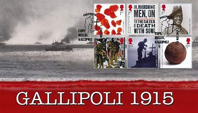 Fdcovers HC08 Gallipoli 1915 First Day Cover 2015