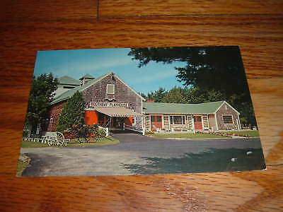 BOOTHBAY PLAYHOUSE/Theatre Museum MAINE old POSTCARD