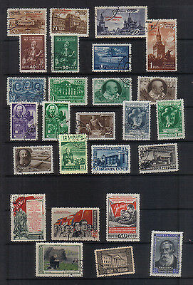 Russia 1947-52 Used Collection