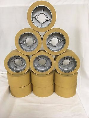 Rubber Power Feeder Roller Wheels (RO-12) Set of 12 for most 1HP Feeders