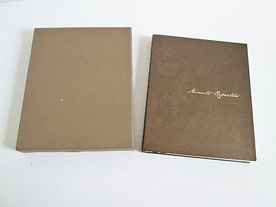 Patek Philippe Geneve Minute Repeaters Watch Book History & Catalog Limited Ed.
