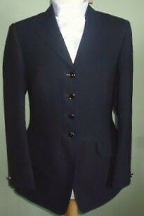 very smart black show jacket size 10 immaculate condition