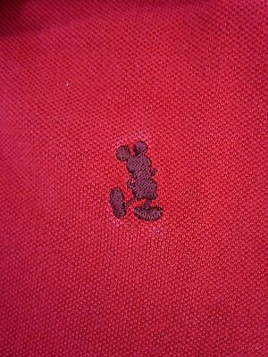 Disney Mickey Polo Shirt Men's size Large Embroidered Mickey on Front