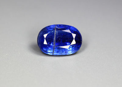 """2.96 Cts_Gem Miracle Collection_100 % Natural Royal Blue Kyanite""""un-Heated"""""""