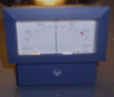 50-0-50 uA panel meter from Collins
