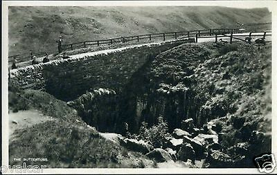 The Buttertubs. Near Hawes In Wensleydale.  North Yorkshire. Old Postcard