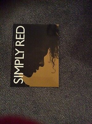 simply red farewell tour programme 2010