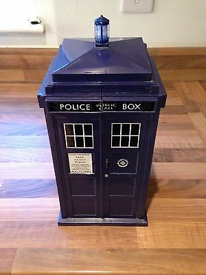 Doctor Who Tardis &Card Storage Police Box