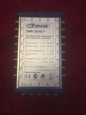 Spaun Cascade 5 In x 16 Out SMK 55162 F Multiswitch