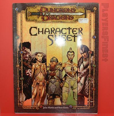D&D Character Sheets - 3th Edition / Softcover