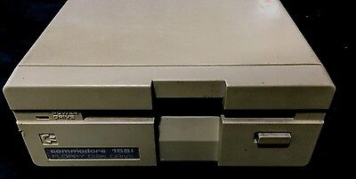 Vintage Commodore 1581 External 3.5 Floppy Drive Tested and Working