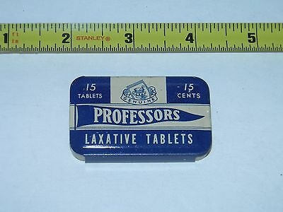 Vintage Professors Laxative Tin SanDiego Calif