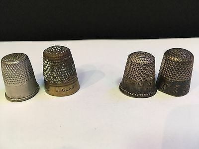 2.  sterling thimble 2 Other Thimble