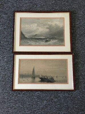 Attic Fine Two Framed Pictures Collectable