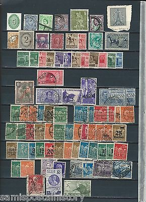 Germany - Italy selection of mint and used stamps