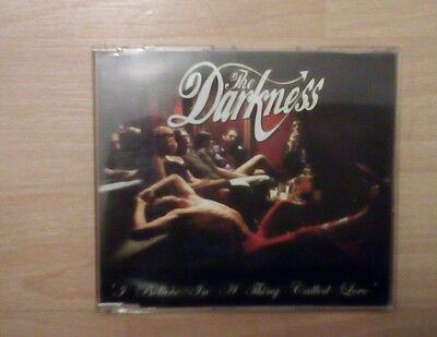 The Darkness: I Believe In A Thing Called Love, original DUSTY001 CD
