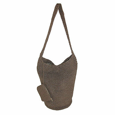 New Dynamic Asia Women's Nylon Crochet Tote with Coin Purse