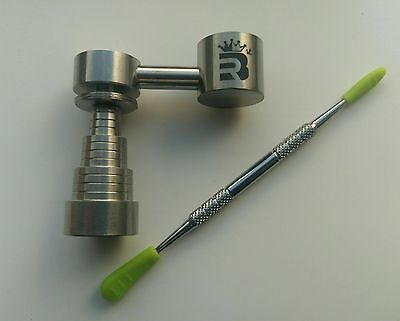 RoilBee 6 in 1 Sidecar Side Arm Titanium Nail Domeless 10/14/18mm Reversible UK