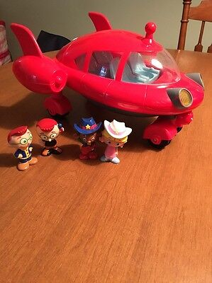 Little Einsteins Pat Pat Rocket And Figures Lights And Sounds  Works Great