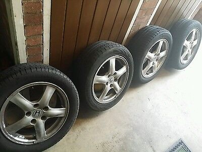 honda accord alloy wheels with tyres 16 114.3