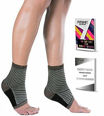 Plantar Fasciitis Compression Socks by FITSHIT, Fast Foot Sleeve Relief, 2 SIZES