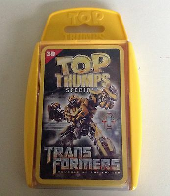 Top Trumps Cards Special -Trans Formers