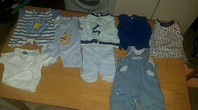 8x Baby boy clothes  3-6 months bundle