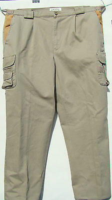 Men's Orvis Trousers 100% Cotton. Outdoor/Fishing.  Waist 40 Inside Leg: 28